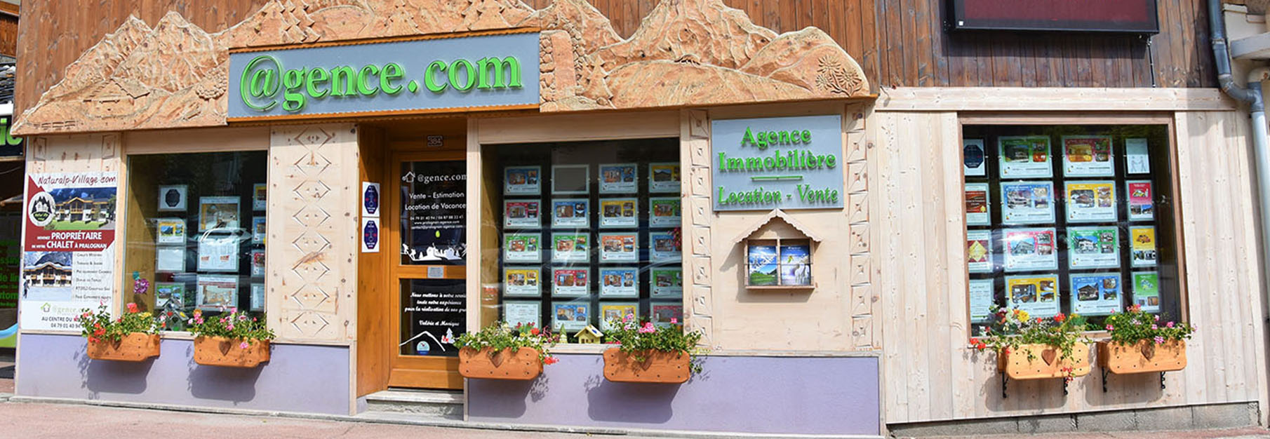 Agence immobiliere Pralognan